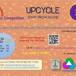 Design a product from your old clothes and win cash award !!!