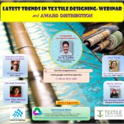 Webinar series-3. Latest Trends in Textile Designing